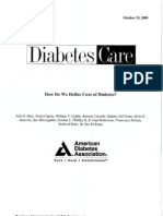 How Do We Define Cure of Diabetes?