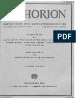 Wilhelm Meister als Archivfiktion