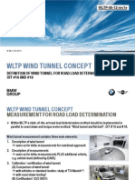 WLTP-06-12-Rev1e - Starting Note Wind Tunnel Concept by BMW