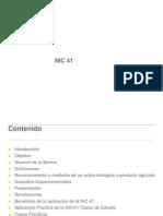 NIC 41 Iscade