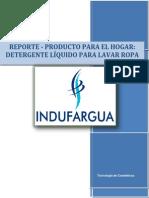 Reporte de Jabón Líquido Lavaropa