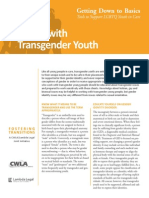 Working With Transgender Youth
