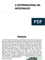 Logistica Internacional Na Mcdonalds