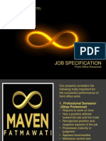 Job Specification FO