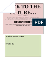 design brief 2014