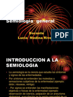 Semiologia General 2010 Primera Clase