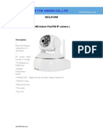 Wireless Ip Camera NCL614W Specification-ttb Vision Co.,Ltd-www.ttbvision.com