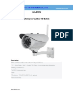 Wireless Ip Camera NCL615W Specification-ttb Vision Co.,Ltd-www.ttbvision.com
