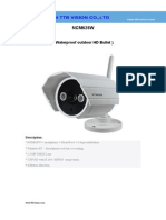 Wireless Ip Camera NCM628W Specification-ttb Vision Co.,Ltd-www.ttbvision.com