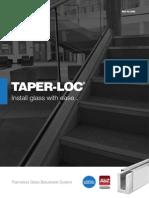 Nolan _ Taper Loc _Frameless Glass Balustrade