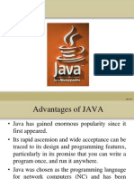 Advantages of Java