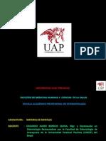 Materiales Para Impresión Yesos Uap Materiales Dentales 2014