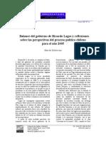 Lagos Balance