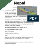 Nepal // document