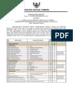 Pengumuman Pendaftaran Kutim Sscn Cpns 2014 Web Bkd