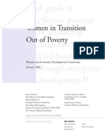 Transition Out of Poverty