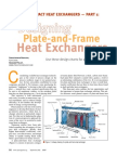 Designing Plate and Frame Heat Exchangers