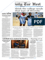 The Daily Tar Heel for Sept. 16, 2014