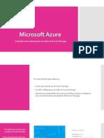 Creando Una Cuenta Para Acceder Al Azure Storage