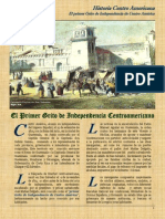 Rafael Sanchez Castillo - El Primer Grito de Independencia de CentroAmérica