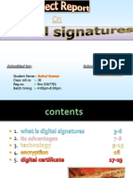 Digitalsignatures Project