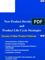 product life cycle strategies