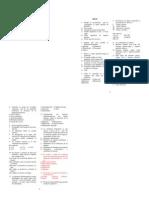 Anatomía - 1er Examen 98ii-98iii-99i