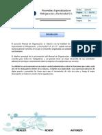Manual de Organizacion Original