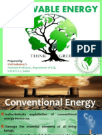 Renewable Energy Resources in India (Conventional Vs Non-Conventional Energy)