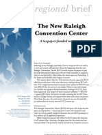 The New Raleigh Convention Center