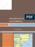 Greenfield Exploration Targets in Mozambique
