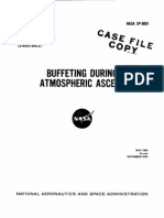SP 8001 - Buffeting During Atmospheric Ascent