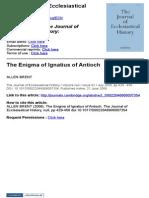 The Enigma of Ignatius of Antioch