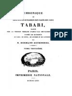 Chronique de Tabari Tome 3