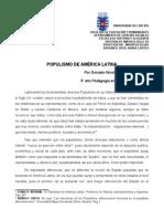 Populismo de América Latina