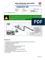 New SOP Hydrotest