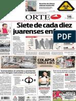 Periódico Norte edición del día 16 de septiembre de 2014