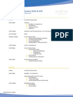 1005775 RevC GYN Advanced – System Skills & DVH Training Agenda