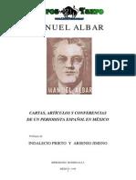 Manuel Albar - Escritos, Conferencias, Discursos