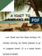 A Visit to Langkawi Beach