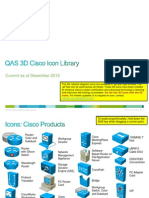 3D Cisco Icon Library v3.1