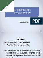 4 a Clasificacion de Las Hipotesis. Primera Parte