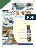 Csir News May 2012
