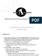 ngo academy strategy and implementation