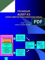 Prosedur Audit k3