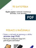 Vrste Datoteka Web