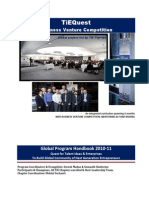 Global BVC TiEQuest - Program Handbook Oct 2010