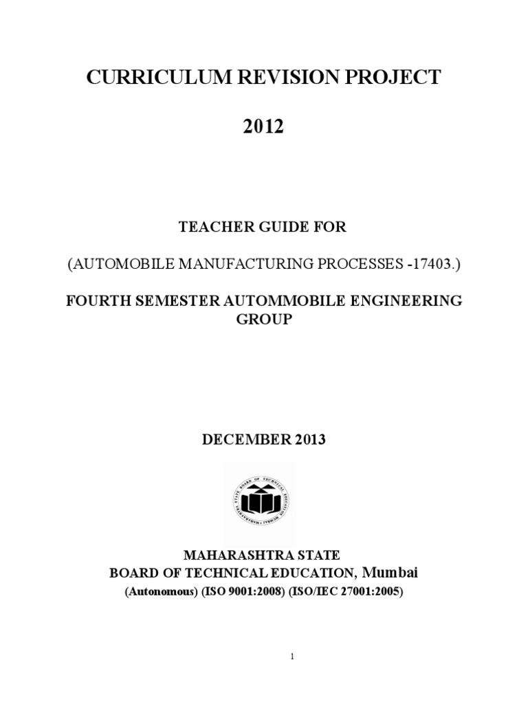 17403 Automobile Manufacturing Processesdoc Curriculum Figno1 Simple Wiring Diagram For A Residential Building Numerical Control