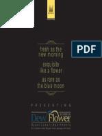 Sobha Dewflower Brochure
