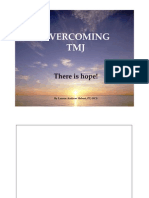 Overcoming TMJ